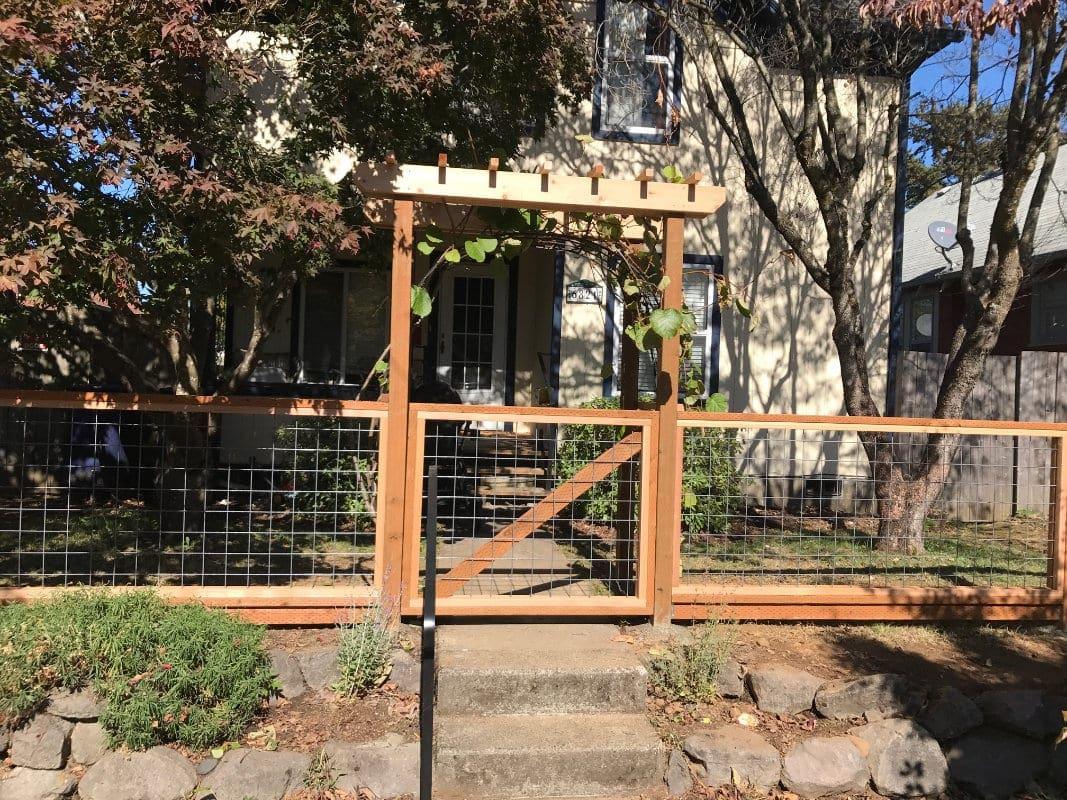 Hog Wire Fence Gate