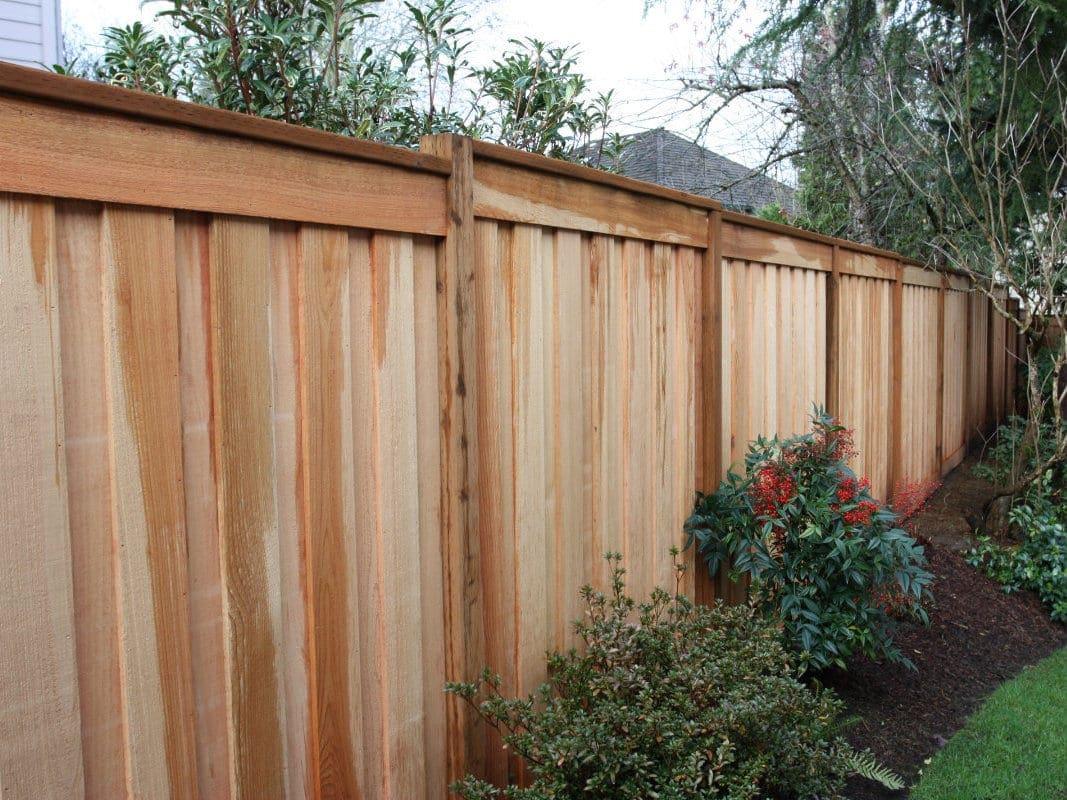 board on board fence tualatin