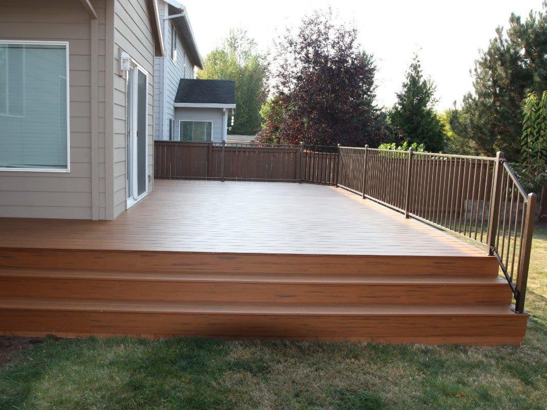smooth deck