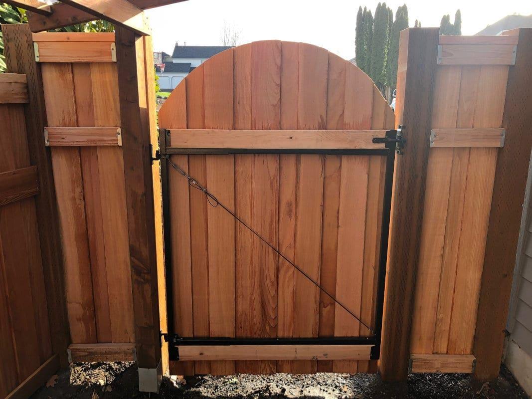 Cedar Gate Frame