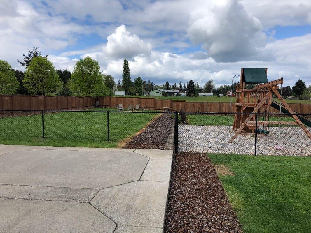 chain link playground